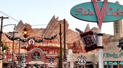 Photo of Theme Park Ride / Attraction Cars Land at Disney California Adventure Park, Anaheim, CA 92802, United States