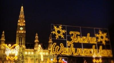 Photo of Christmas Market Wiener Christkindlmarkt at Rathausplatz, Wien 1010, Austria