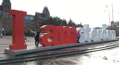 Photo of Public Art I Am Sterdam sign at Netherlands