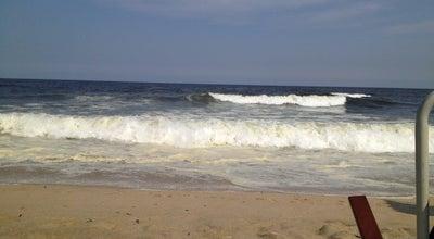 Photo of Beach 7th Ave - Belmar Beach at Belmar, NJ, United States
