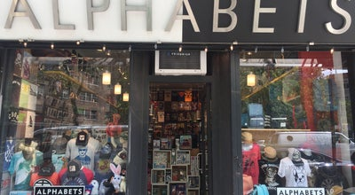 Photo of Gift Shop Alphabets at 64 Avenue A, New York, NY 10009, United States