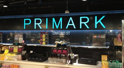 Photo of Clothing Store Primark at 499-517 Oxford St, London W1K 7DA, United Kingdom