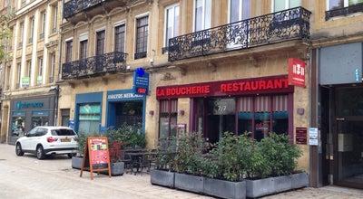 Photo of Butcher La boucherie Restaurant at 12 Avenue Robert Schuman, Metz 57000, France