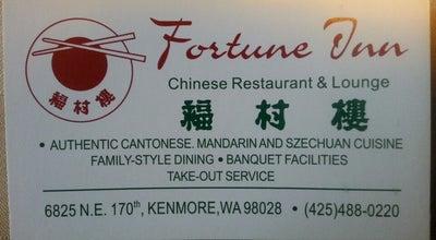 Photo of Chinese Restaurant Fortune Inn at 6825 Ne 170th St, Kenmore, WA 98028, United States
