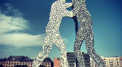 Photo of Outdoor Sculpture Molecule Man at An Den Treptowers, Berlin 12435, Germany