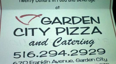 Photo of Pizza Place Garden City Pizza at 670 Franklin Ave, Garden City, NY 11530, United States