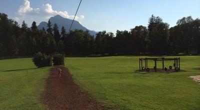 Photo of Playground Spielplatz Schlosspark at Schlosspark Hellbrun, Salzburg, Austria