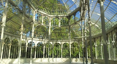 Photo of Monument / Landmark Palacio de Cristal del Retiro at Parque Del Retiro, Madrid 28001, Spain