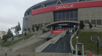 Photo of Basketball Stadium Oracle Arena at 7000 Coliseum Way, Oakland, CA 94621, United States