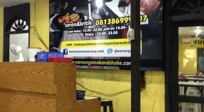 Photo of Steakhouse Waroeng Steak & Shake at Jl. Sisingamangaraja, Medan 20219, Indonesia