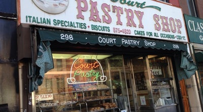 Photo of Bakery Court Pastry Shop at 298 Court St, Brooklyn, NY 11231, United States