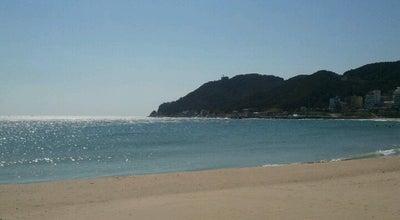 Photo of Beach 송정해수욕장 (Songjeong Beach) at 해운대구 송정광어골로 58-1, 부산광역시 48073, South Korea