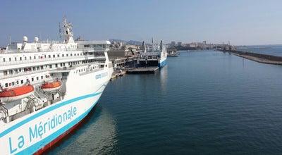 Photo of Pier Gare Maritime La Méridionale at Port De Marseille-fos, Marseille 13002, France