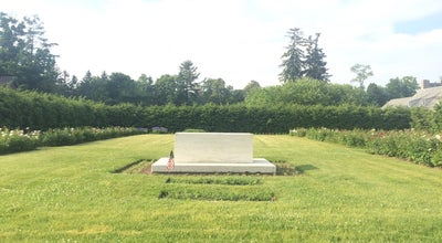 Photo of Historic Site FDR Rose Garden And Gravesite at Hyde Park, NY 12538, United States