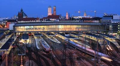 Photo of Train Station München Hauptbahnhof at Bayerstr. 10a, München 80335, Germany