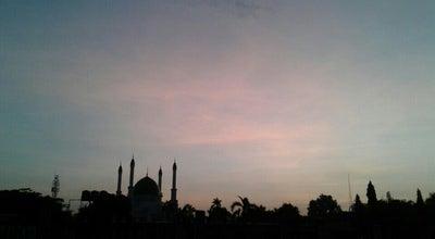 Photo of Mosque Masjid Al-Madinah at Palem Ganda, Indonesia
