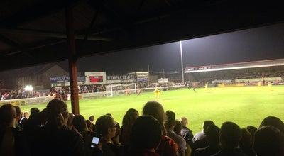 Photo of Soccer Field Dagenham Football Stadium at United Kingdom