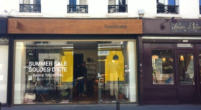 Photo of Clothing Store French Trotters at 128 Rue Vieille Du Temple, Paris 75003, France
