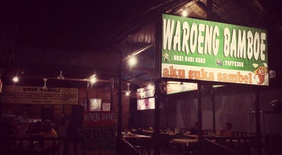 Photo of Diner Waroeng bamboe at Mulawarman, Tarakan, Indonesia