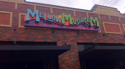 Photo of Pizza Place Mellow Mushroom McKinney at 218 E Louisiana St, McKinney, TX 75069, United States