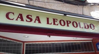 Photo of Tapas Restaurant Casa Leopoldo at Sant Rafael, 24, Barcelona 08001, Spain