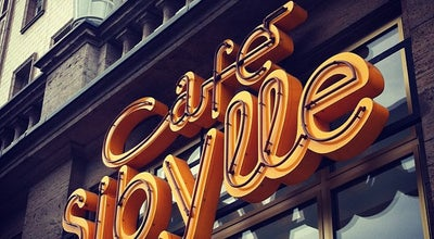 Photo of Cafe Café Sibylle at Karl-marx-allee 72, Berlin 10243, Germany
