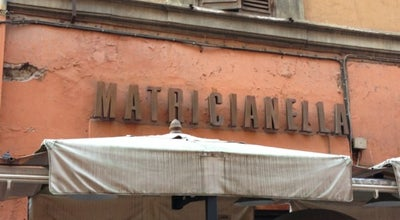 Photo of Italian Restaurant Matricianella at Via Del Leone, Roma 00186, Italy