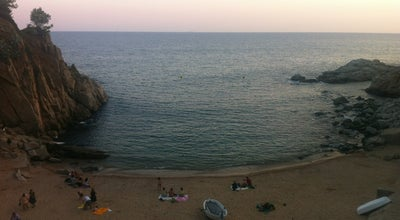 Photo of Beach Platja d'es Codolar at Carrer Del Portal, 34, Tossa de Mar 17320, Spain