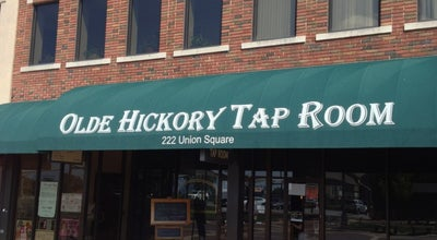 Photo of American Restaurant Olde Hickory Tap Room at 222 Union Sq Nw, Hickory, NC 28601, United States