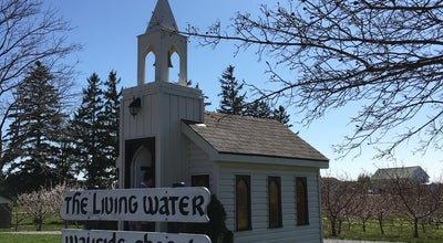 Photo of Church The Living Water Wayside Chapel at 15796 Niagara Parkway, Niagara-on-the-Lake, ON L0S 1J0, Canada