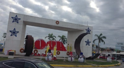 Photo of Monument / Landmark Glorieta del Chechen at Carretera Federal 180, Ciudad del Carmen, Mexico