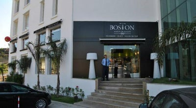 Photo of Diner Boston Café at Route Cap Spartel, Galerie Andalucia, N° 14, Tangier, Morocco