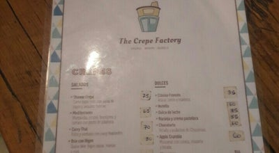 Photo of Creperie The Crepe Factory at 25 De Mayo 183, San Isidro 1642, Argentina