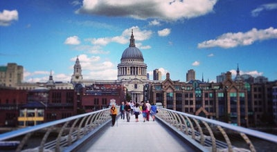 Photo of Bridge Millennium Bridge at Millennium Bridge, London SE1 9JE, United Kingdom