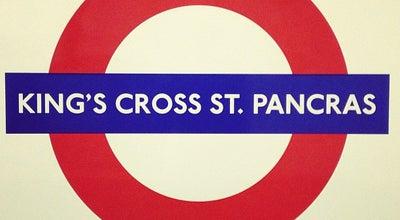 Photo of Subway King's Cross St. Pancras London Underground Station at Euston Rd, London N1 9AL, United Kingdom