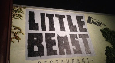 Photo of American Restaurant Little Beast Restaurant at 1496 Colorado Blvd, Los Angeles, CA 90041, United States