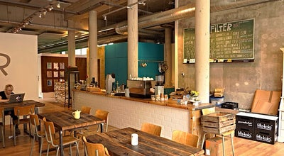 Photo of Coffee Shop Filter at Valkenburgerstraat 124, Amsterdam 1011 NA, Netherlands