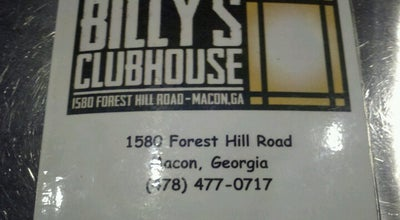 Photo of Bar Billy's Clubhouse at Forest Hill Rd, Macon, GA 31210, United States