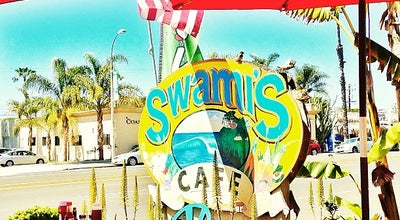 Photo of American Restaurant Swamis Cafe at 1163 S Coast Highway 101, Encinitas, CA 92024, United States