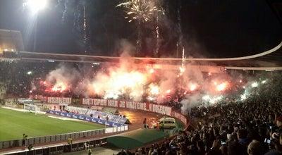 "Photo of Soccer Stadium Stadion ""Rajko Mitić"" at Ljutice Bogdana 1a, Belgrade 11000, Serbia"