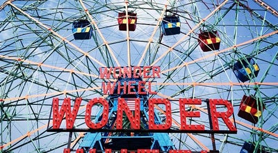 Photo of Tourist Attraction Deno's Wonder Wheel Park at 1025 Boardwalk W, New York City, NY 11224, United States
