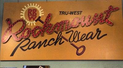 Photo of Clothing Store Rockmount Ranchwear at 1626 Wazee St, Denver, CO 80202, United States