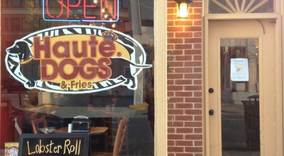 Photo of American Restaurant Haute Dogs & Fries at 610 Montgomery St, Alexandria, VA 22314, United States