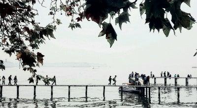 Photo of Lake 东湖公园 East Lake at 武昌区沿湖大道(梨园广场), wuhan, ch 430077, China