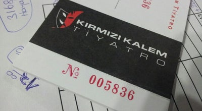Photo of Theater Kirmizi Kalem Tiyatro at Pamir Cad. No: 22/a, Antalya, Turkey