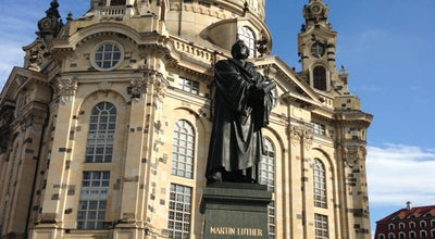 Photo of Monument / Landmark Martin-Luther-Denkmal at Neumarkt, Dresden, Germany