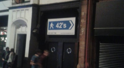 Photo of Nightclub 42nd Street at Bootle Street, Manchester M2 5GU, United Kingdom