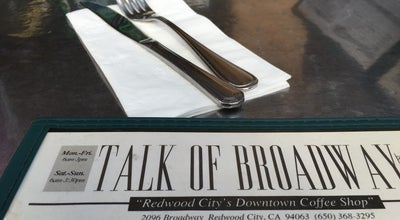 Photo of Diner Talk of Broadway at 2096 Broadway St, Redwood City, CA 94063, United States