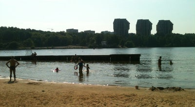 Photo of Beach Пляж «Химки» at Парк Им. Л.н. Толстого, Khimki, Russia