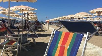 Photo of Beach Viareggio Beach - Italy at Italy